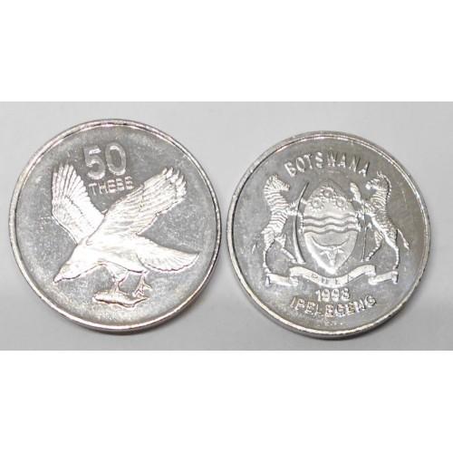 BOTSWANA 50 Thebe 1998