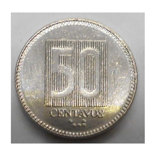 ECUADOR 50 Centavos 1988