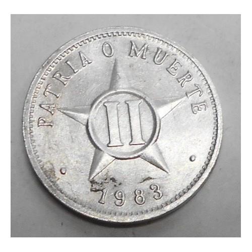 CUBA 2 Centavos 1983