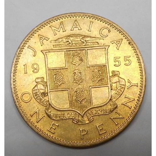JAMAICA 1 Penny 1955