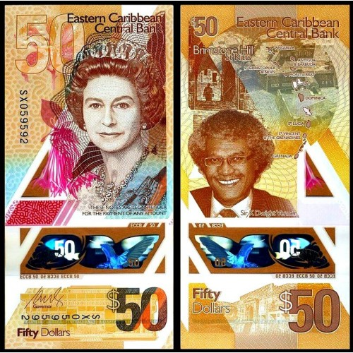 EAST CARIBBEAN STATES 50...