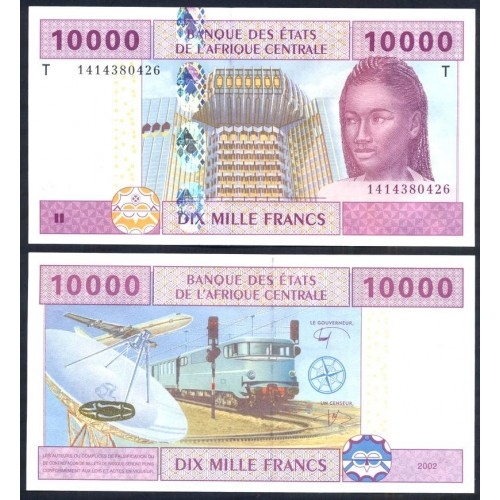 CONGO (C.A.S.) 10.000...