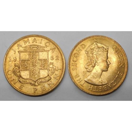 JAMAICA 1 Penny 1962