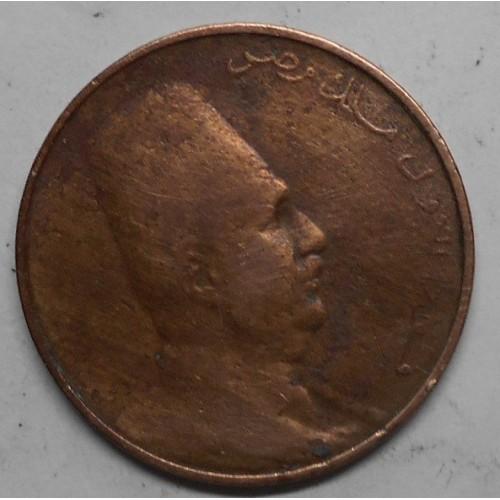 EGYPT 1 Millieme 1924H Fuad 1°