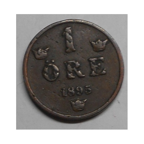 SWEDEN 1 Ore 1895