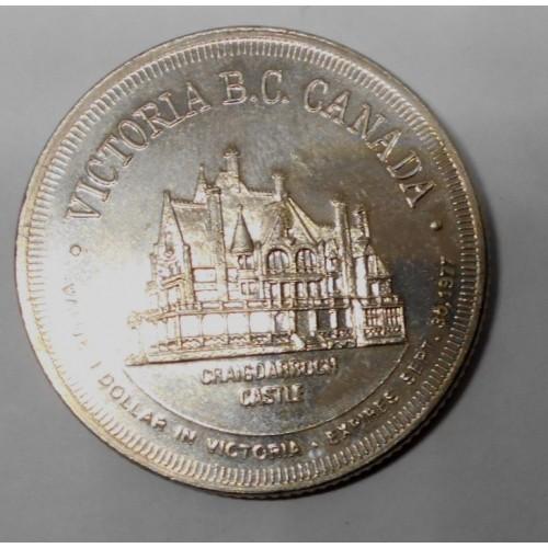 CANADA 1 Dollar 1977...
