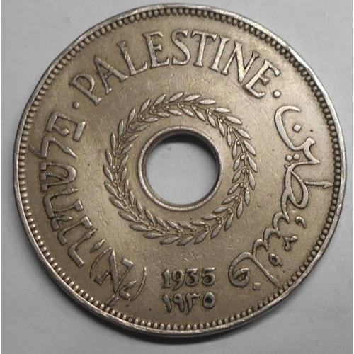 PALESTINE 20 Mils 1935