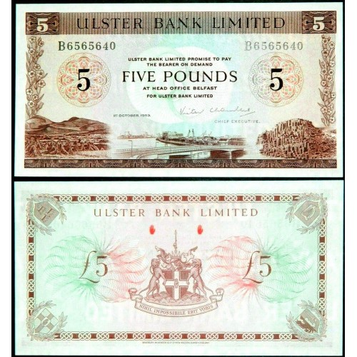 NORTHERN IRELAND 5 Pounds 1983