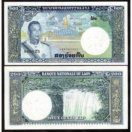 LAOS 200 Kip 1963