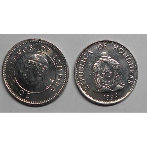 HONDURAS 20 Centavos 1994