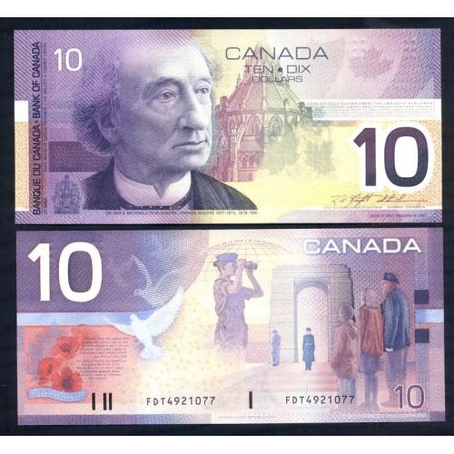 CANADA 10 Dollars 2000