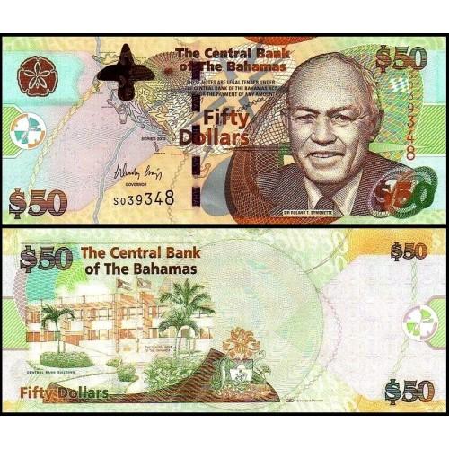 BAHAMAS 50 Dollars 2012