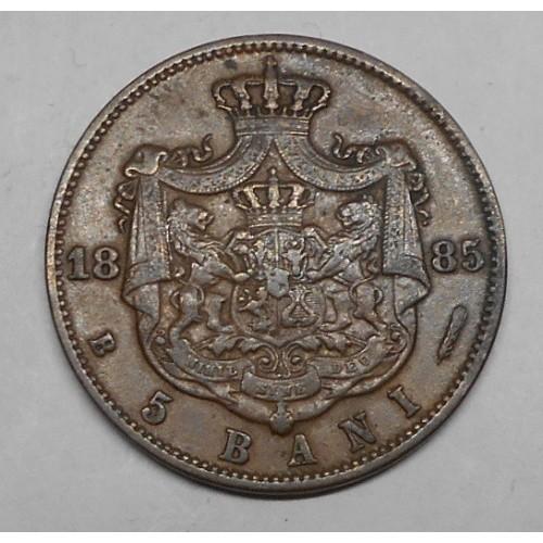 ROMANIA 5 Bani 1885