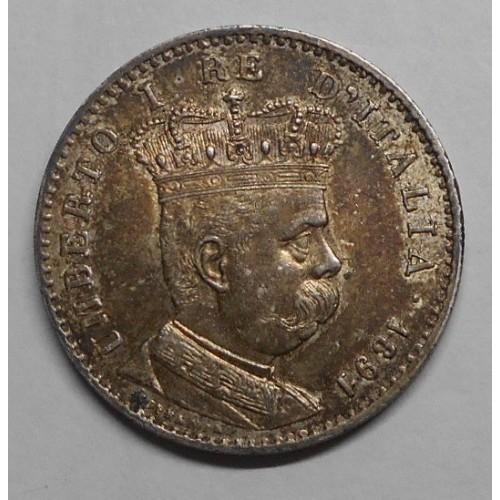 ERITREA 1 LIRA 1891