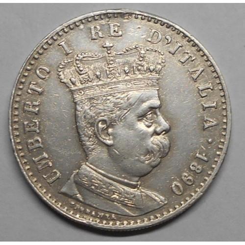 ERITREA 1 LIRA 1890 AG