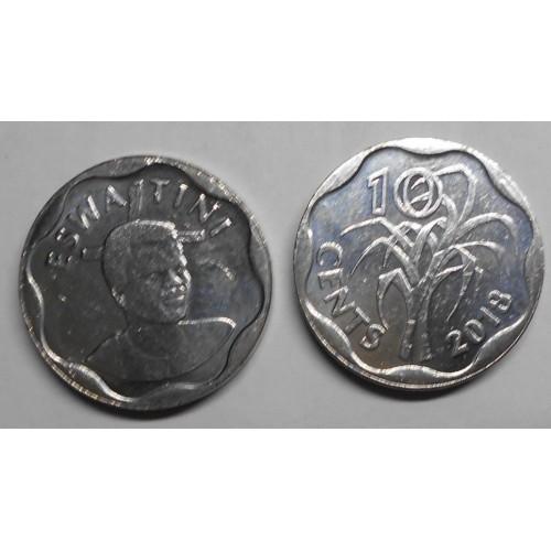 SWAZILAND 10 Cents 2018