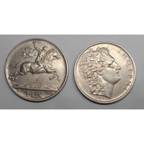 ALBANIA 1 Lek 1926