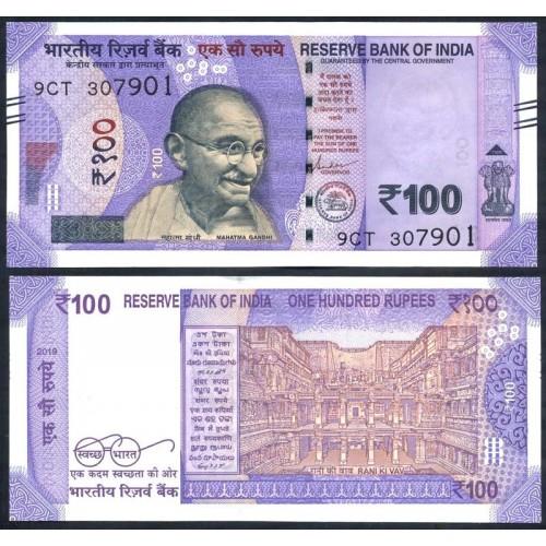 INDIA 100 Rupees 2019...
