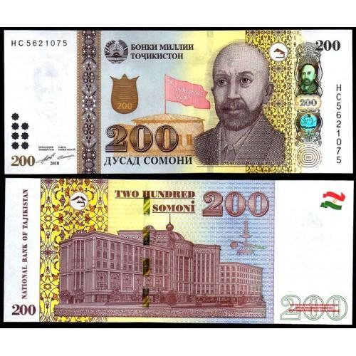TAJIKISTAN 200 Somoni 2018