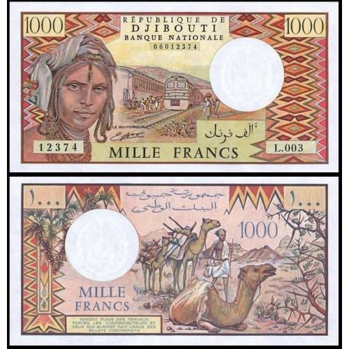 DJIBOUTI 1000 Francs 1991