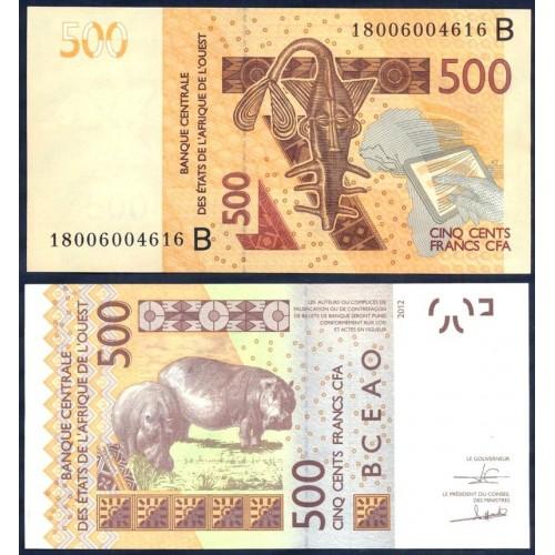 BENIN (W.A.S.) 500 Francs 2018