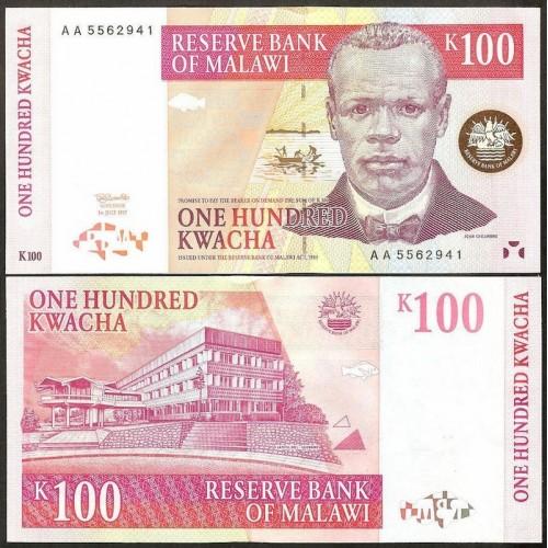 MALAWI 100 Kwacha 1997