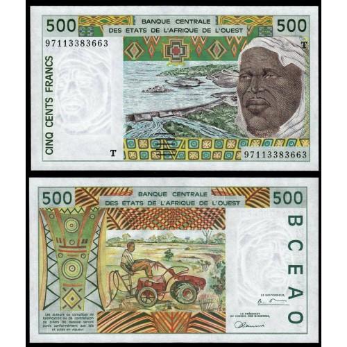 TOGO (W.A.S.) 500 Francs 1997