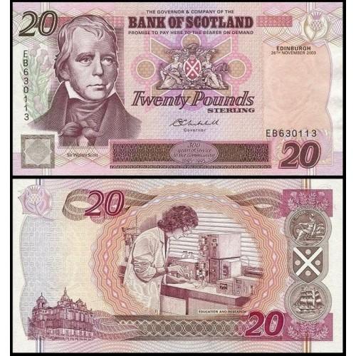 SCOTLAND 20 Pounds 2003