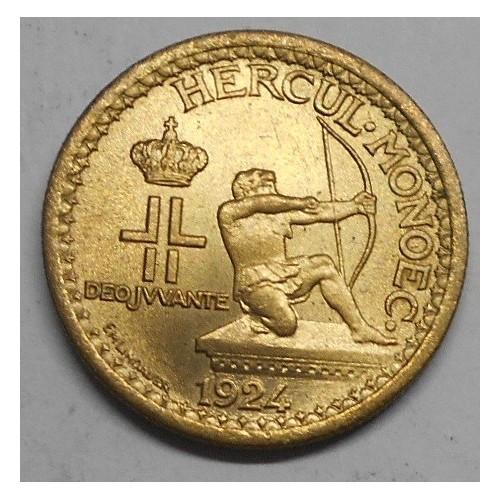 MONACO 50 Centimes 1924