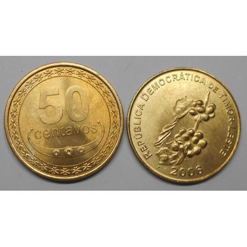 EAST TIMOR 50 Centavos 2006