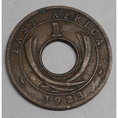 EAST AFRICA 1 Cent 1923