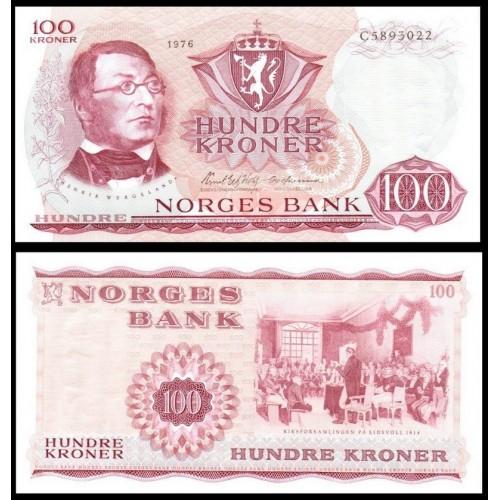 NORWAY 100 Kroner 1976