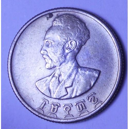 ETHIOPIA 50 Cents EE1936...