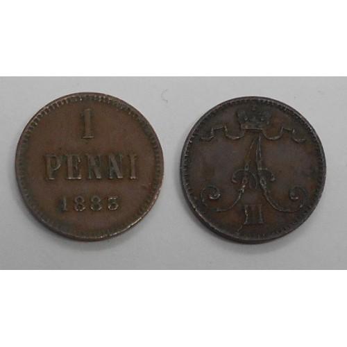FINLAND 1 Penni 1883