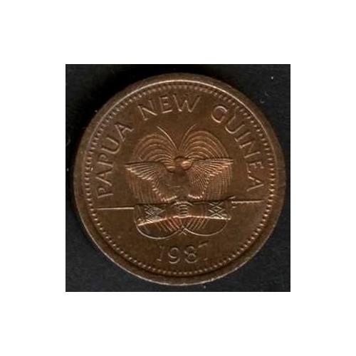 PAPUA NEW GUINEA 2 Toea 1987
