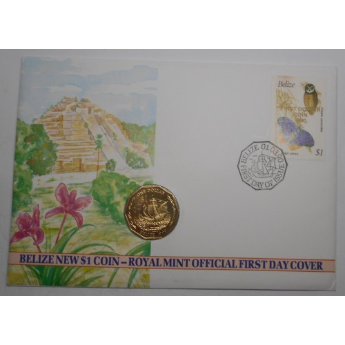 NUMISBRIEF Belize 1 Dollar...