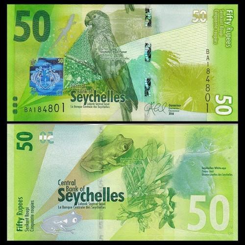 SEYCHELLES 50 Rupees 2016