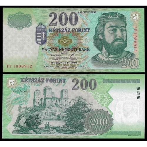 HUNGARY 200 Forint 1998
