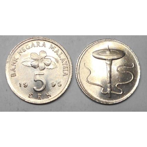 MALAYSIA 5 Sen 1995