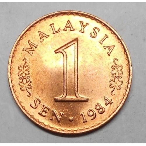MALAYSIA 1 Sen 1984