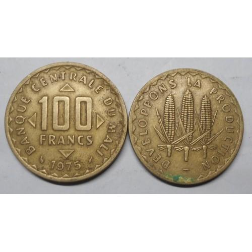 MALI 100 Francs 1975 FAO