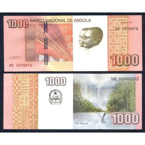 ANGOLA 1000 Kwanzas 2012...