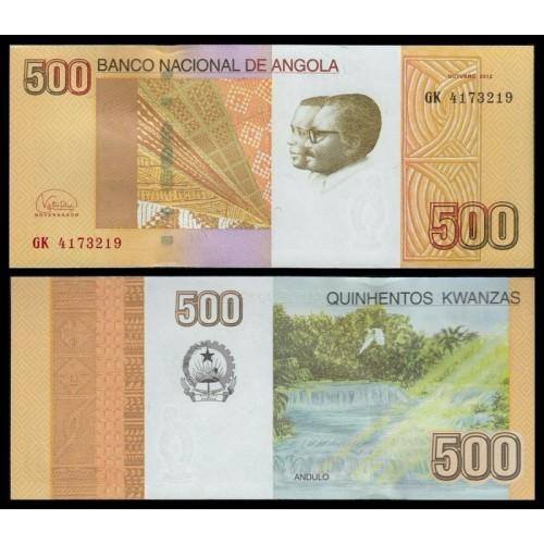 ANGOLA 500 Kwanzas 2012 (2018)