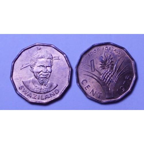 SWAZILAND 1 Cent 1975 FAO