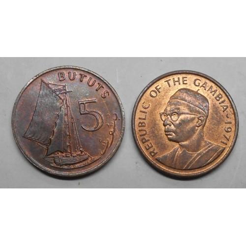 GAMBIA 5 Bututs 1971
