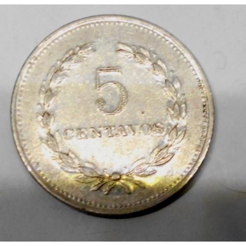 EL SALVADOR 5 Centavos 1976