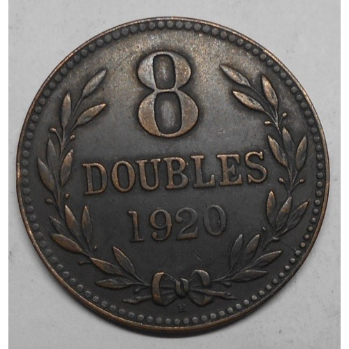GUERNSEY 8 Doubles 1920