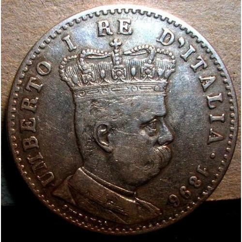ERITREA 1 LIRA 1896
