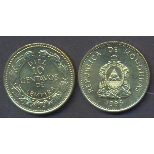 HONDURAS 10 Centavos 1995