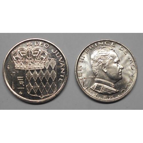 MONACO 1 Franc 1975